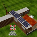 ISBU Home in Asheville NC, Container Home Design
