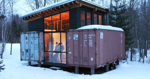 shipping container blueprints