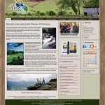 Ashe County Chamber of Commerce Joomla Website