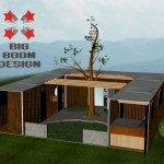 Asheville Shipping Container Home Design