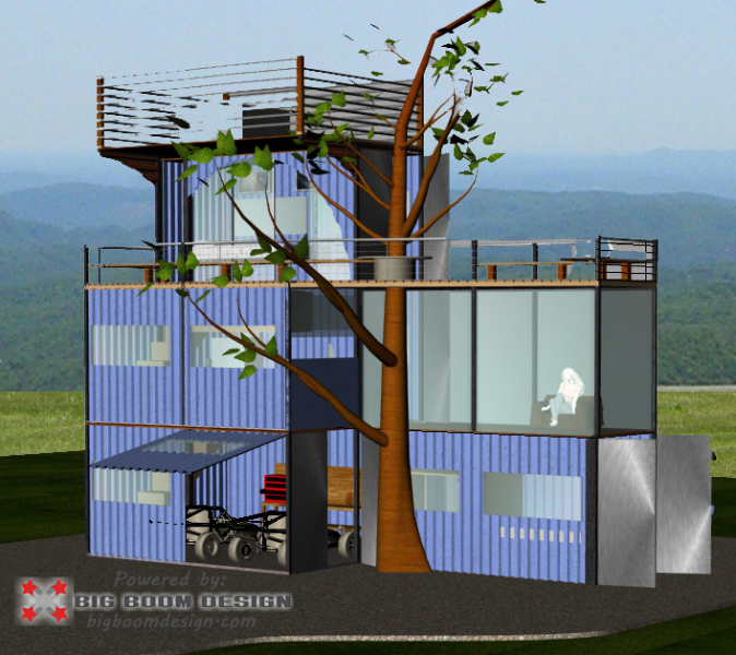 Shipping container home designs and plans - Cargo container homes plans ...