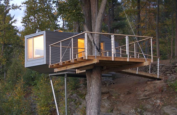 Shipping Container Homes on Log Cabin House Plans Steep Slope